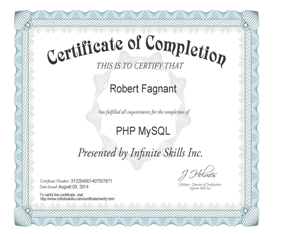 Epro Computer Solutions Certified Robert Fagnant Epro Computer